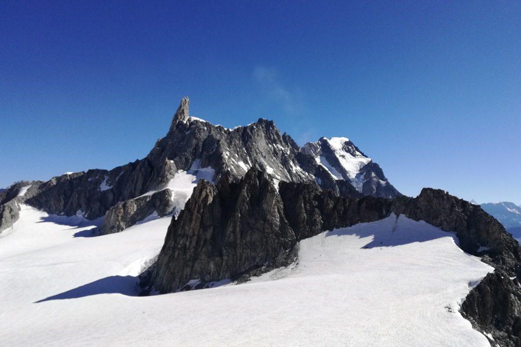 Traversata da Punta Helbronner all'Aiguille du Midì - Wild