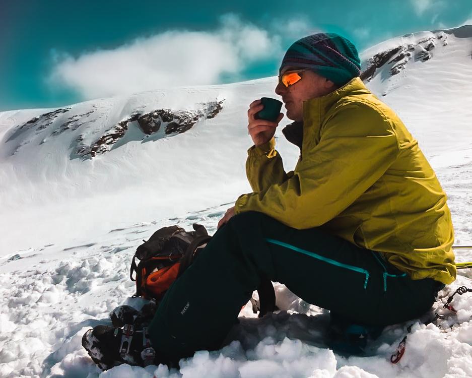 escursione invernale - pranzo sulla neve